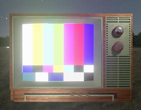 Old Television - TV Retro 3D model