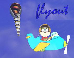 3D print model flyout