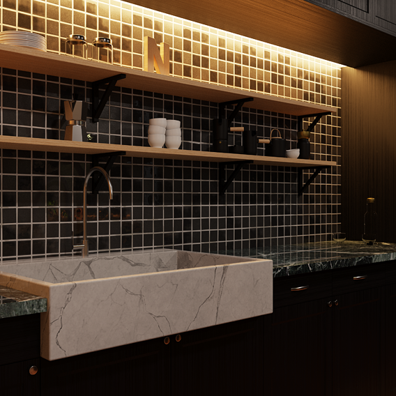 Kitchen Architectural Visualisation