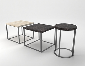 3D model lithos tables stool
