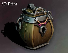 Barrel chest 3D printable model