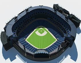 3D model Baseball Stadium american
