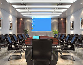 Medium-sized conference room 3D model