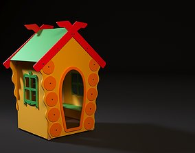 Childrens game lodge 3D model