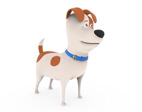 3D Cute Dog cartoon - Max