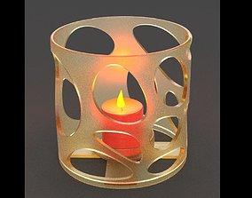 Candlestick 3D print model