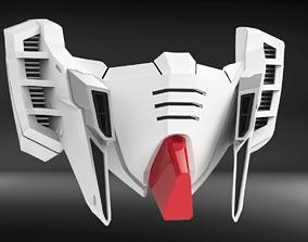 RX93I Custom Mask Fan Art 3D printable model