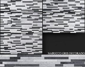 Keros Nabucco Gris Decorado 3D