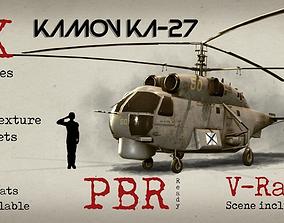 Kamov Ka-27 3D asset