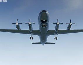 Ilyushin Il-38 Maritime Patrol ASW Aircraft 3D model