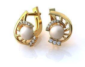 3D print model Earrings BS006