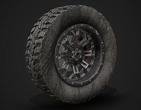 Wheel 3D PBR