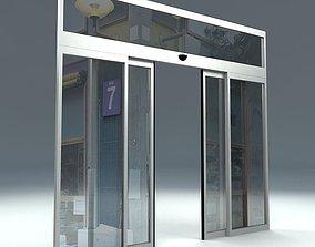 AUTOMATIC SLIDING DOOR 3D model