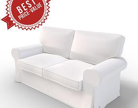 Sofa Chair 2sides 3D model