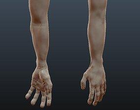 Male Arm Sculpt 3D