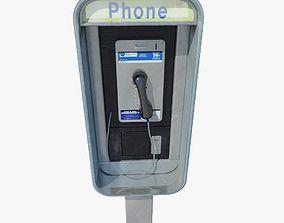 Public phone 3D model