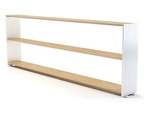 Self Fitting Modular Kitchen Shelf 3D