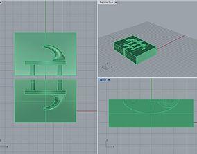 3D printable model Hanger for kitchen and bath