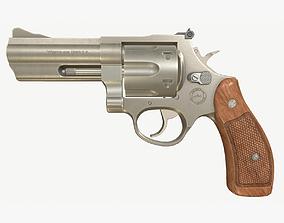 Revolver PBR 3D asset