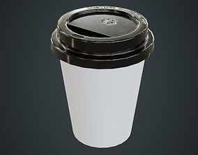 Paper Coffee Cup 1A 3D model