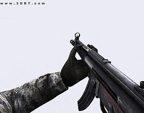 3DRT-Modern firearms animated pack animated