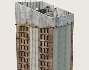 Building Skyscraper City Town Downtown 3D model 3