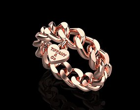 3D print model tiffany Knote ring