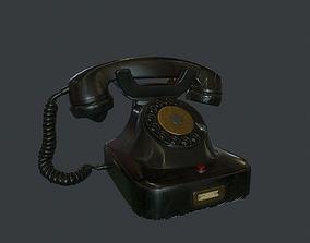 3D model Old Retro phone pbr