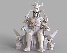 Skeletor Sculpture 3D print model