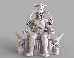 Skeletor Sculpture 3D printable model
