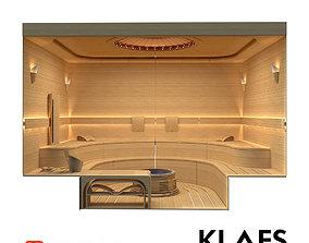 Sauna Klafs 3D model