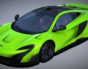 game-ready McLaren 675LT Coupe Super Sport Car 3D Model