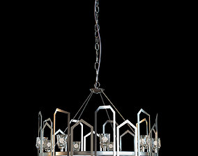 Gatsby Chandelier by Synchronicity 3D asset