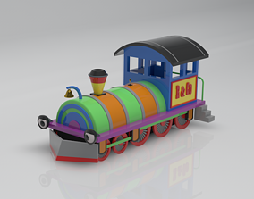 vehicle Locomotive 3D