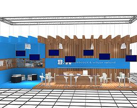3D model B-M Exhibition Stand Design 3-2