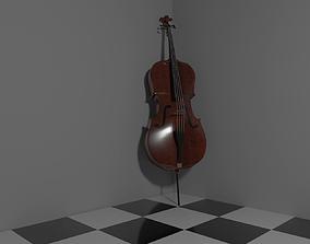 Classic Cello 3D asset