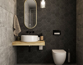Bathroom 07 3D model
