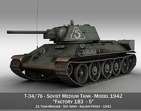 T-34-76 - Model 1942 - Soviet medium tank - 5