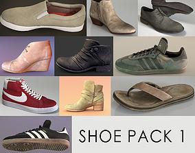 Shoe Pack 1 3D model