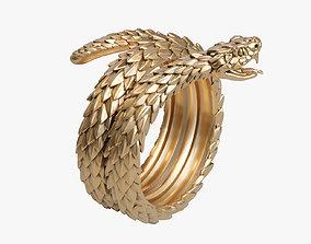 3D printable model Snake Viper ring