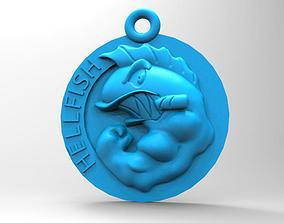 3D printable model The Simpsons Flying Hell Fish