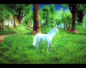 animated 3Dfoin - Unicorn
