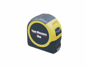 3D asset game-ready Tape Measure
