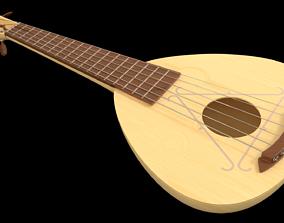 Stringed instrument 3D guitar