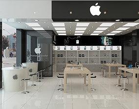3D model Apple Store Interior Scene