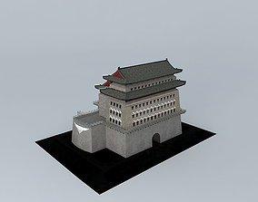 3D model Beijing Zhengyang watchtower