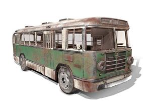 3D model ZIL-158