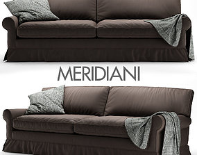 3D model Conny Connery sofa by Meridiani