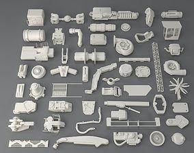 3D Kit bash-52 pieces - collection-2