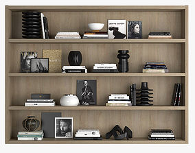 3D Shelf decoration 04